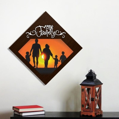 Personalized My Family Wall Photo Frame Style 7