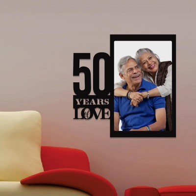 Personalized 50 Years Anniversary Printed Photo Frame