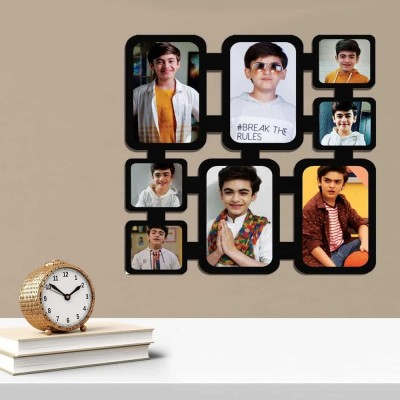 Personalized 8 Photo Multi Pic Wall Photo Frame