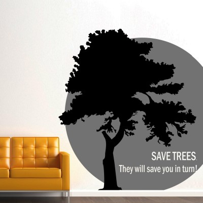 Save Tree Quote Wall Sticker Decal-Small