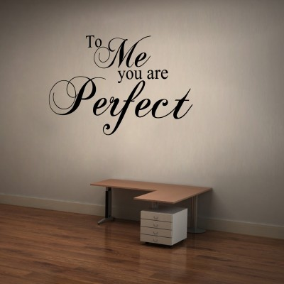You Are Perfect Wall Sticker Decal-Small-Black