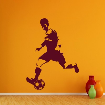 Its a goal Wall Sticker Decal-Small-Burgundy