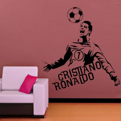 Winning Goal Wall Sticker Decal-Small-Black